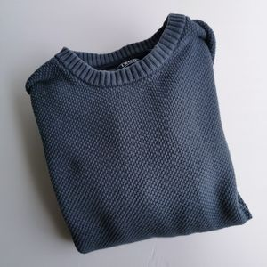 Izod Knit Sweater Large Crewneck